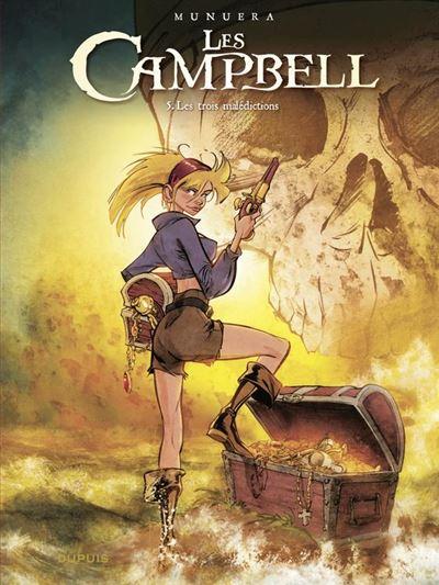 Les Campbell - tome 5 - Les trois malédictions - Les trois malédictions - 9791034736454 - 8,99 €