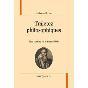 Traictez philosophiques