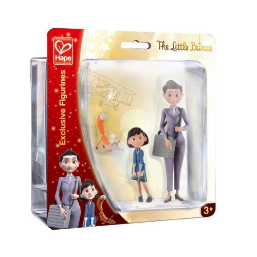 Figurines Le Petit Prince - Le renard La maman et La petite fille Hape
