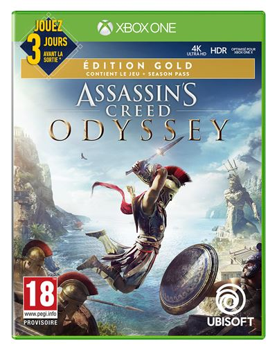 Assassins Creed Odyssey Edition Gold Xbox One