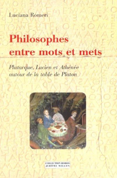 Philosophes entre mots et mets