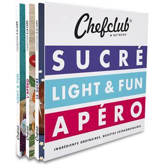 Chefclub Network Sucre Light Et Fun Apero