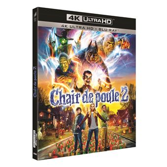 Chair de pouleChair de poule 2 : Les Fantômes d'Halloween Blu-ray 4K Ultra HD