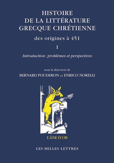 Histoire de la littérature grecque chrétienne