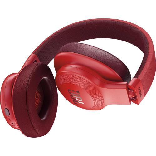 casque arceau jbl e55 bt rouge