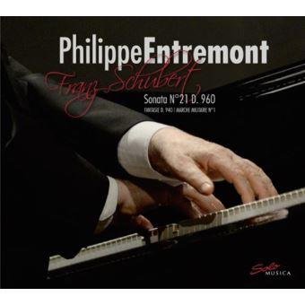 Sonate piano 21 d960/fant en fa/marche militaire a 4 mains