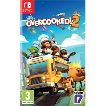OVERCOOKED 2   FR/NL SWITCH
