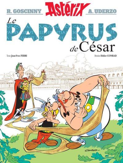 Astérix - Le Papyrus de César - nº36 - 9782864973164 - 7,99 €