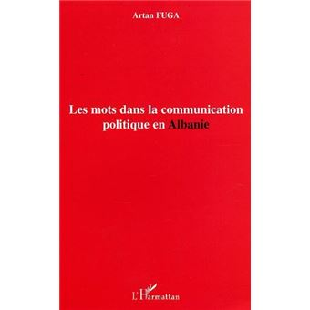 Mots dans la communication politique en Albanie