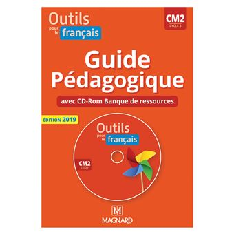 Outils Pour Le Francais Cm2 2019 Guide Pedagogique Cd Rom Banque Ressources