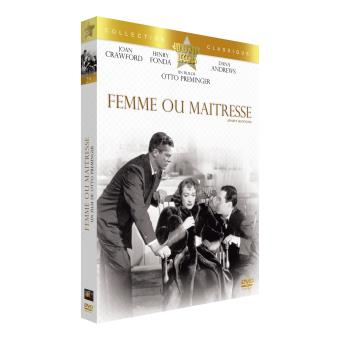 Femme ou Maitresse DVD