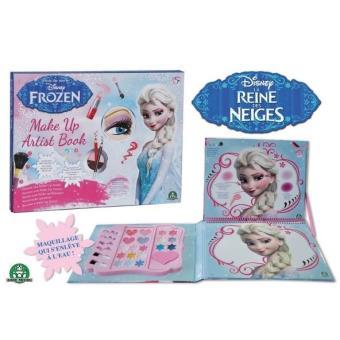 Trousse De Maquillage Frozen La Reine Des Neiges Make Up Artist Book
