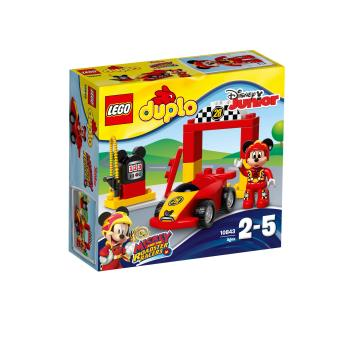 lego duplo disney 10843 la voiture de course de mickey lego achat prix fnac. Black Bedroom Furniture Sets. Home Design Ideas