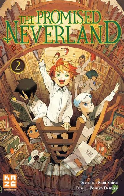 The Promised Neverland T02 - 9782820333902 - 4,99 €