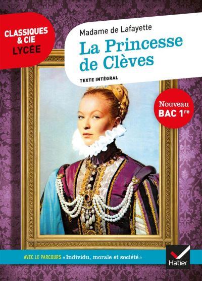 La Princesse de Clèves (Bac 2021) - suivi du parcours « Individu, morale et société » - 9782401059894 - 2,49 €