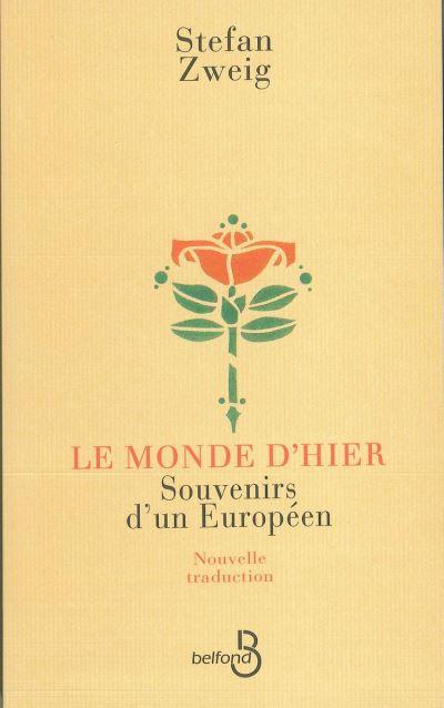 Le Monde d'hier - 9782714453853 - 14,99 €