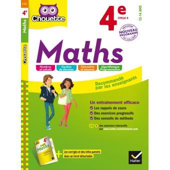 Maths 4e nouveau programme broch collectif achat - La chambre des officiers resume complet du livre ...