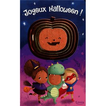 Joyeux Halloween Coll Mon Joli Livre Scintillant
