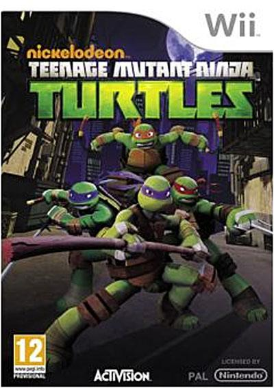 Teenage Mutant Ninja Turtles Wii - Nintendo Wii