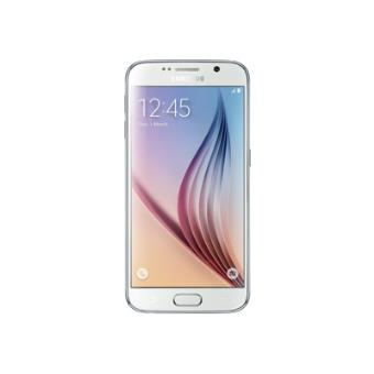 Samsung GALAXY S6 - SM-G920F - parelwit - 4G LTE, LTE Advanced - 32 GB - GSM - Android smartphone