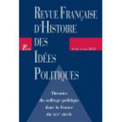 Théories du suffrage politique dans la France du XIXème siècle