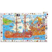 Djeco Les Pirates Puzzle 100 pcs