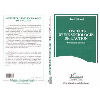 Concepts d'une sociologie de l'action
