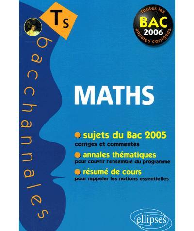 Bacchannales Mathématiques enseignement obligatoire et de spécialité Bac