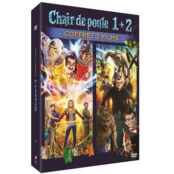 Chair de pouleCoffret Chair de poule 1 et 2 DVD