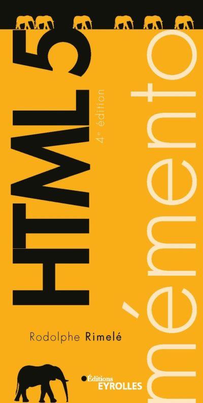 Mémento HTML 5 - 9782212440881 - 3,99 €
