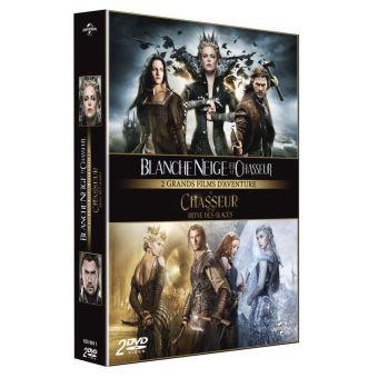Blanche Neige et le chasseur + Le Chasseur et la Reine des Glaces Coffret DVD