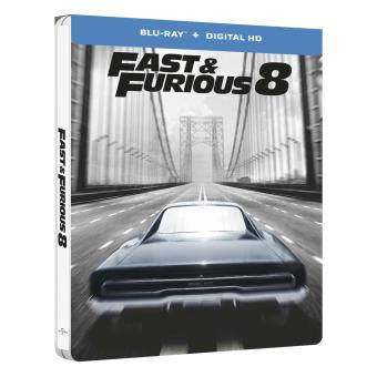 fast and furious fast and furious 8 steelbook blu ray blu ray f gary gray vin diesel. Black Bedroom Furniture Sets. Home Design Ideas