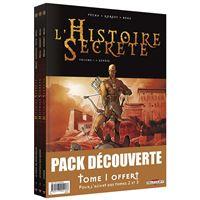 L'Histoire secrète - Pack T01 à
