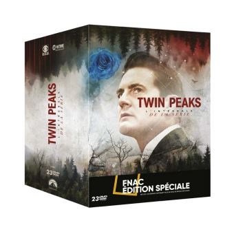 Twin PeaksCoffret Twin Peaks L'intégrale Edition Spéciale Fnac DVD
