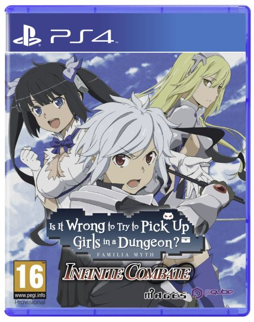 Is It Wrong to Try to Pick Up Girls in a Dungeon? Infinite Combate PS4