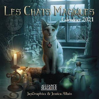 Calendrier 2021 Chat Les Chats Magiques. Calendrier 2021   broché   JayGraphixx