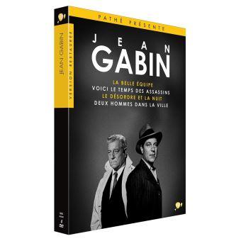 Coffret Jean Gabin 4 Films DVD