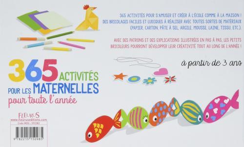 365 Activités Pour Les Maternelles Pour Toute Lannée Cartonné