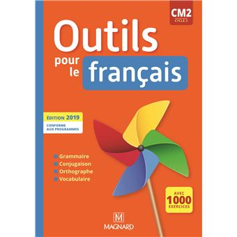 Outils Pour Le Francais Cm2 2019 Manuel
