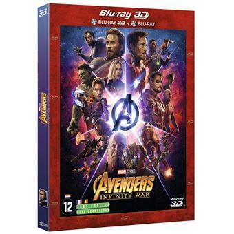AvengersMarvel Avengers Infinity War - BIL - Blu-Ray 3D