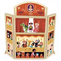 Vilac houten poppenkast 'Mon joli théâtre' door Ingela P. Arrhenius