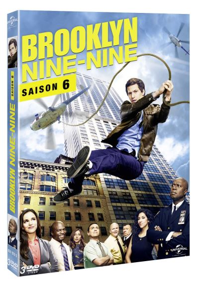 dvd de la saison 6 de brooklyn nine nine