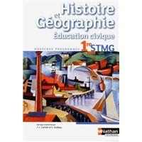 Hist geog 1ere stmg eleve 2012