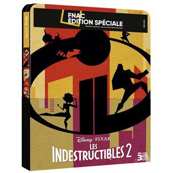 Les IndestructiblesLes Indestructibles 2 Edition Fnac Steelbook Blu-ray 3D