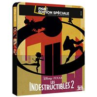 Les Indestructibles 2 Edition Fnac Steelbook Blu-ray 3D