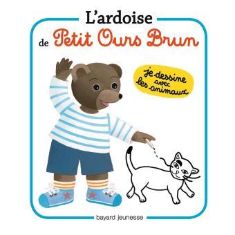 L'ardoise de Petit Ours Brun - Je dessine les animaux
