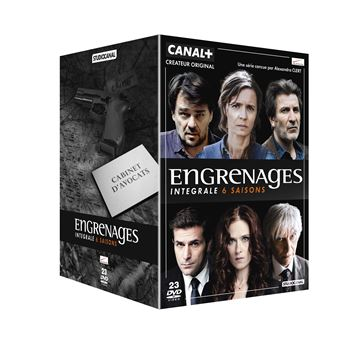 EngrenagesEngrenages Saisons 1 à 6 Coffret DVD