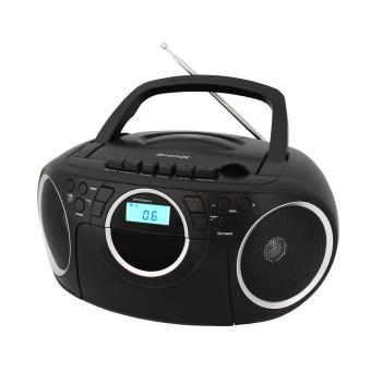 Radiocassette CD Brandt BCD350K7 Noire