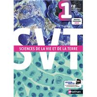 Sciences de la vie et de la terre 1re - Manuel 2019