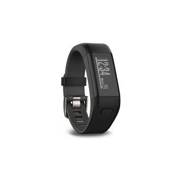 Garmin vivosmart HR + Black verbonden armband Maat M